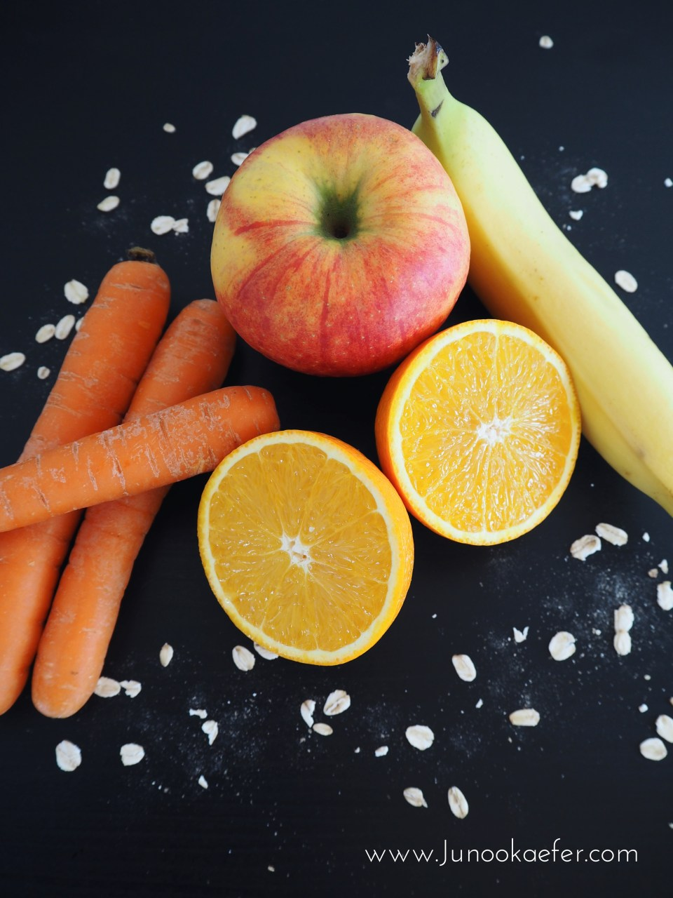 Frühstücks-Smoothie mit Karotte