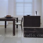 China furniture photography Rug and table