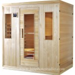 Shenzhen product photography Luxury Wooden Home Use Indoor Infrared Sauna