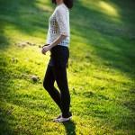 Shenzhen outdoor portrait photographer in the park