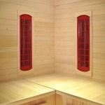 Shenzhen product photography Infrared Sauna interior detail