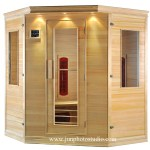 Shenzhen product photography Indoor sauna room dry sauna steam room Therapy Beauty Machine