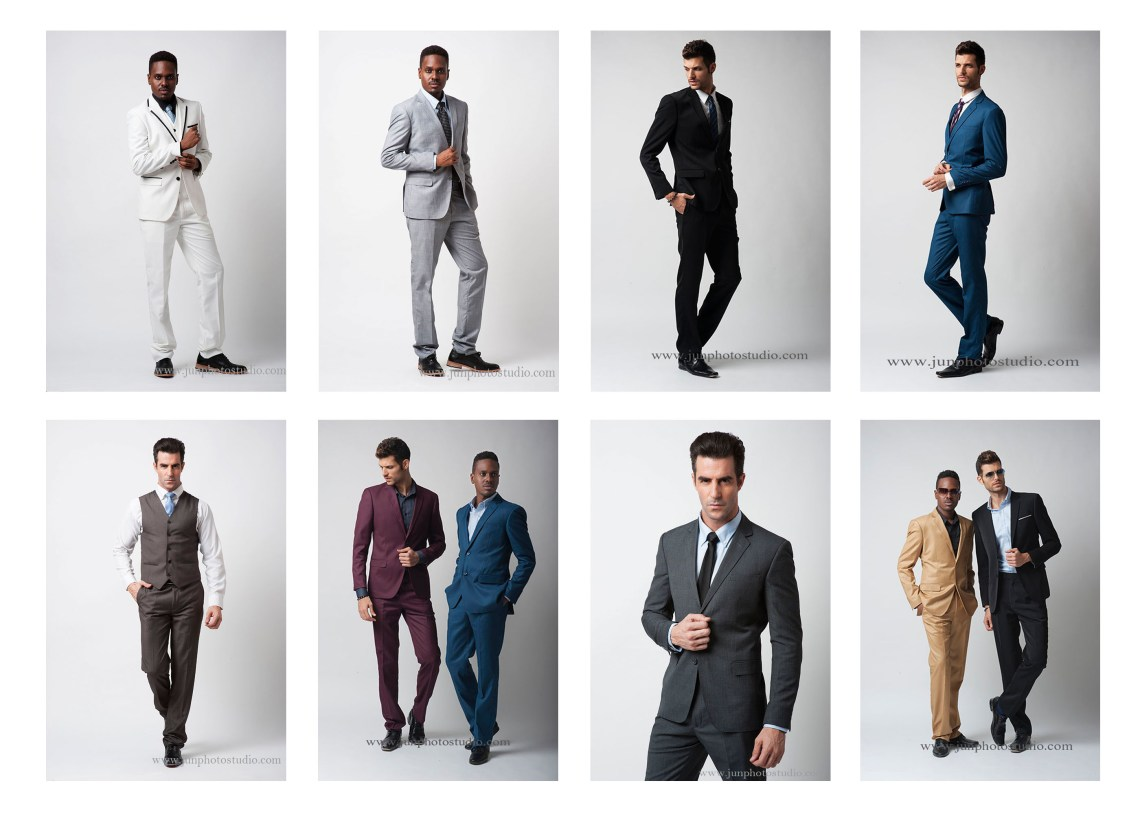 Guangzhou fashion photographer models with suit
