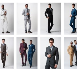 Toronto fashion photographer models with suit