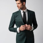 Guangzhou fashion photography slim fit suit