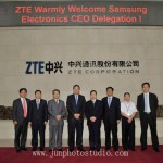 China corporate photographer ZTE corporation group photo