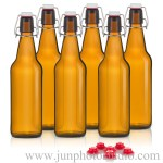 amber-filp-top-bottles-product-shots-in-shenzhen-photo-studio
