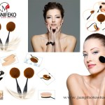 cosmetic-brushes-with-model-product-photography-guangzhou-china