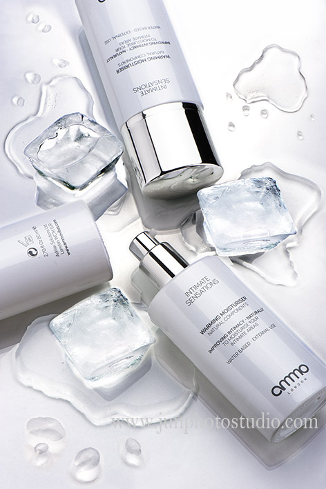 cosmetic product water ice