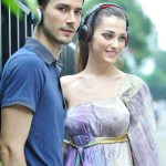 Guangzhou fashion photographer group photo for two headphone