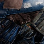 Guangzhou garment product photographer jeans washed