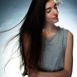 Portrait photographer Guangzhou flying hair
