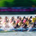 China editorial photography dragon boat