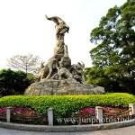 Five goat statue of YueXiu Park Guangzhou