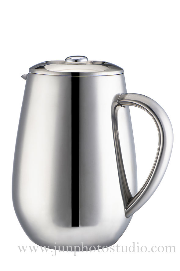markham Toronto product photographer stainless steel teapot