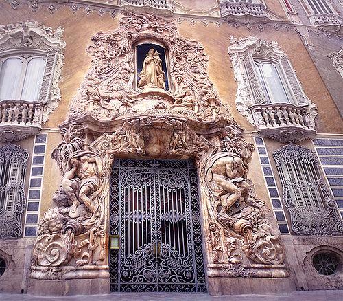 Resultado de imagen de Palacio marqués de dos aguas