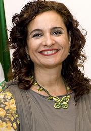 Fotografía de la Consejera, Carmen Martínez Aguayo