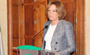 Carmen Ortiz, durante su intervención.