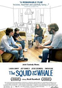 Cartell de The squid and the whale - © www.squidandthewhalemovie.com