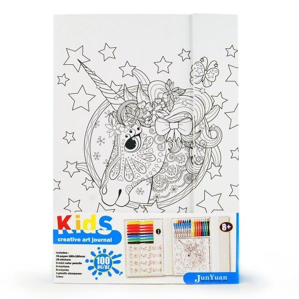 100pc Kids Paper Creative Art Journal