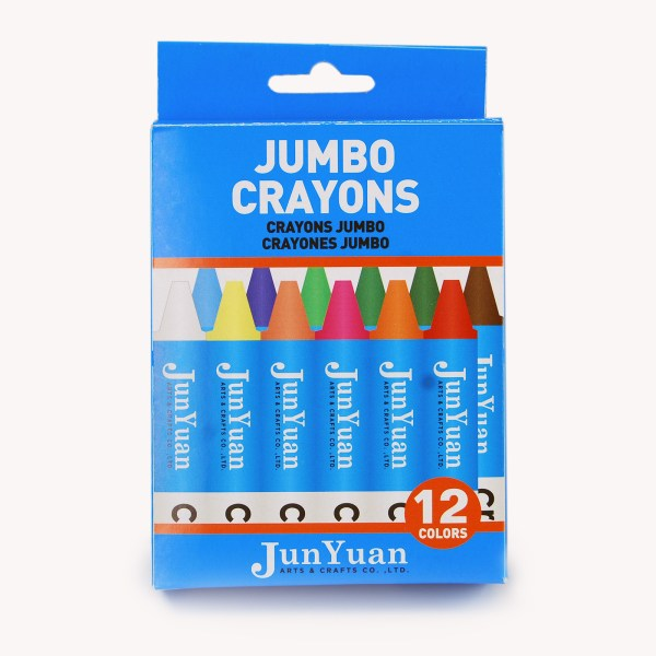 12pc Kids Jumbo Crayon Set