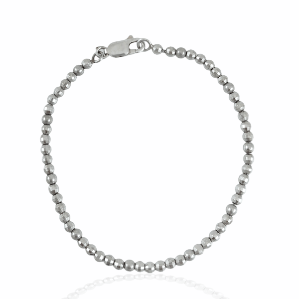 "7"" d/c bead bracelet"