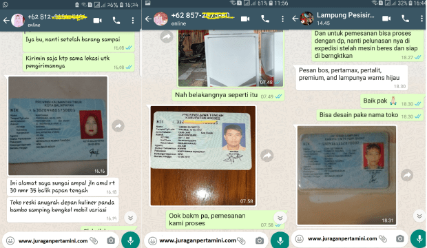 Bukti Deal Pertamini Tegal