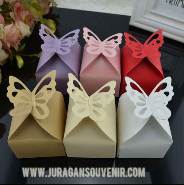 Pearl Butterfly Box - 12