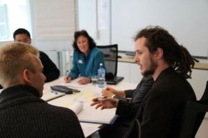 Workshop i Forskningsparken i Oslo. Build2Grow er et av flere gode kurstilbud for gründere.