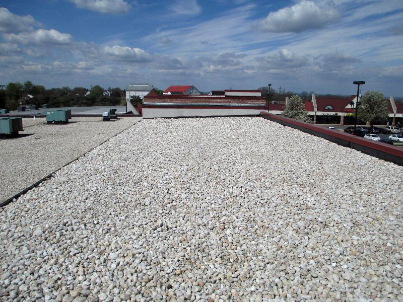 Ballasted roof system