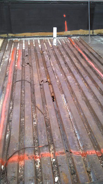 Roof Deck Damage Repairs