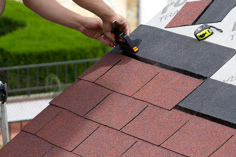 Replace Roof Shingle