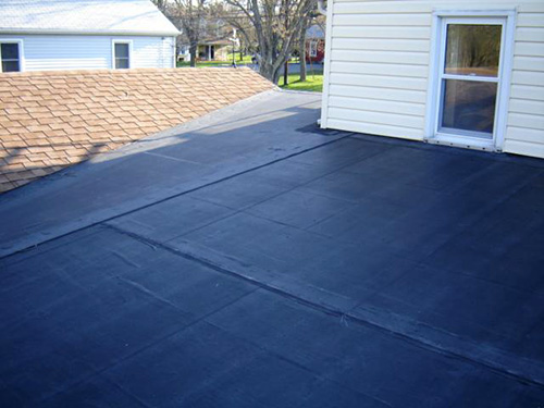 EPDM Roof on Home