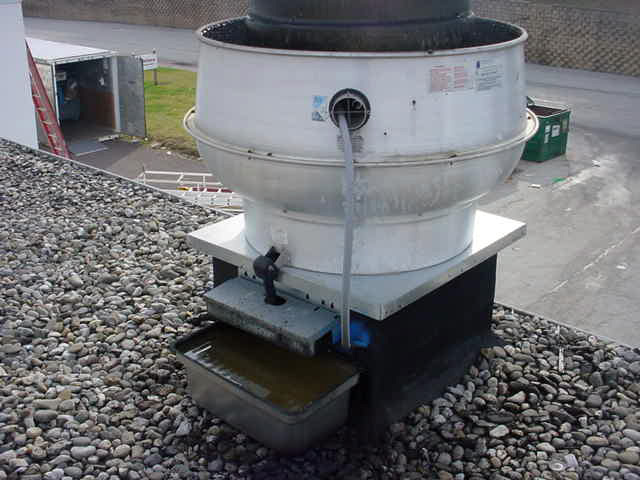 Rooftop Grease Containment System