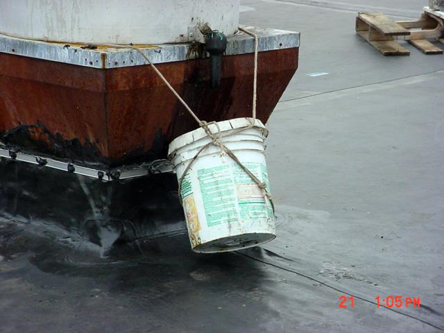 Rooftop Grease Contamination