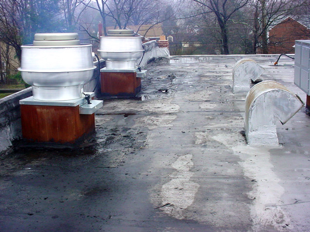 Rooftop Grease Damage 3