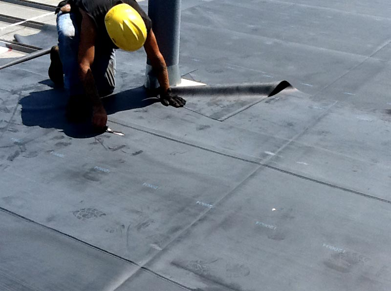 Roofing Repairs to Warranted Roof