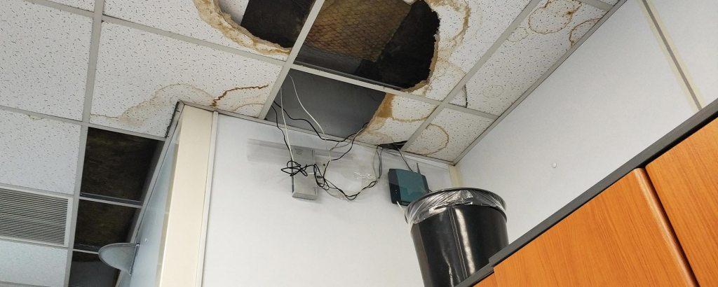 Roof Leaks Affect Bottom Line