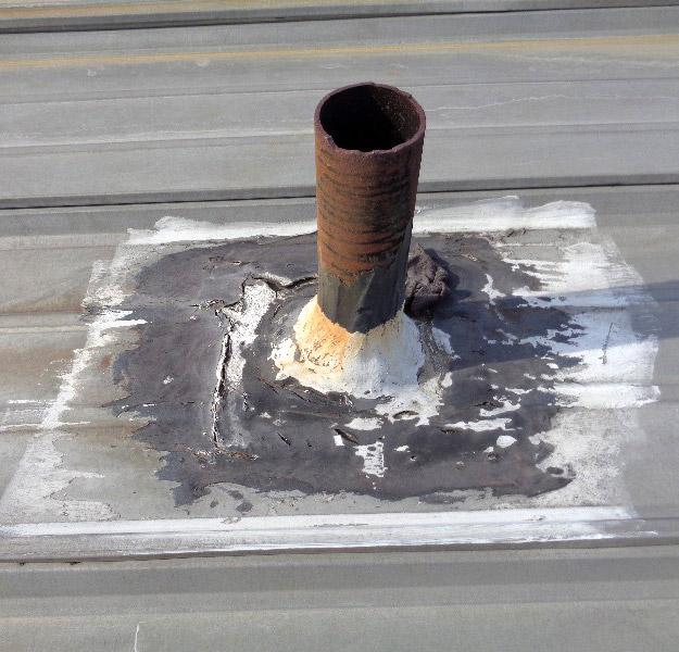 Metal Roof Pipe Flashing