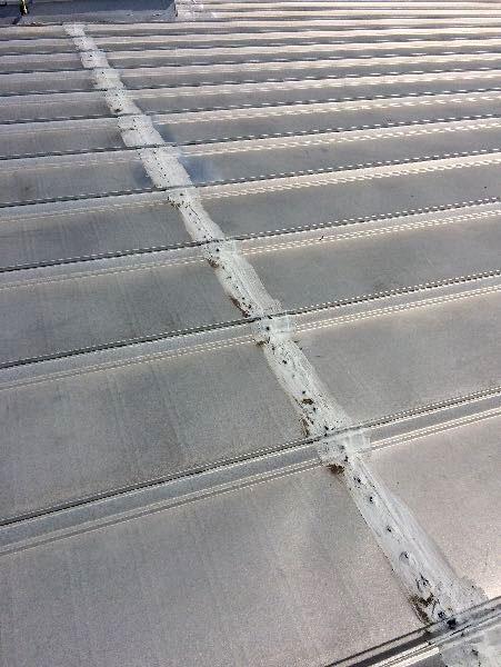 Metal Roof Leak