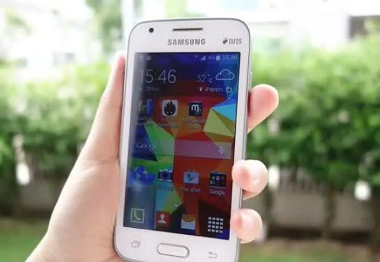 performa Samsung Galaxy V