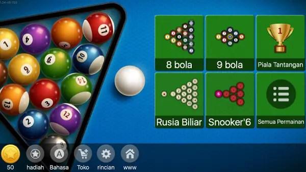 game billiard