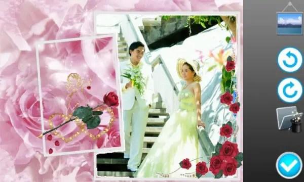 Download bingkai foto, frame foto Wedding Photo frames