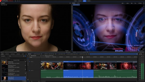 HitFilm 4 Express software edit video pc