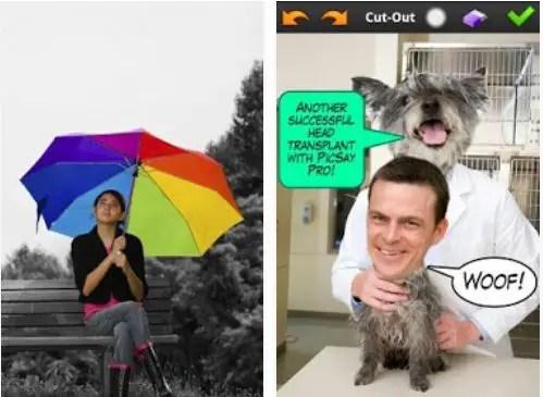 aplikasi edit foto melayang picsay