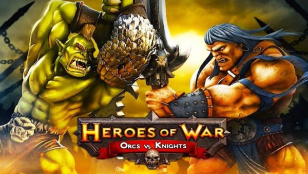 Heroes of War Orcs vs Knights