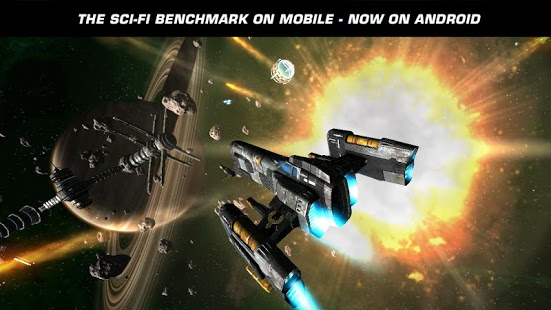 Game HD Android Galaxy on Fire 2