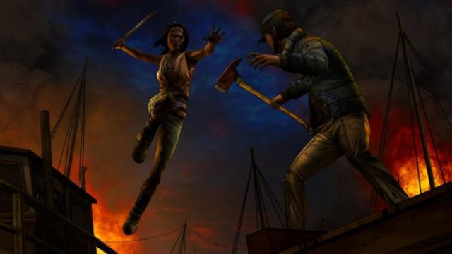 Game HD Android The Walking Dead Michonne