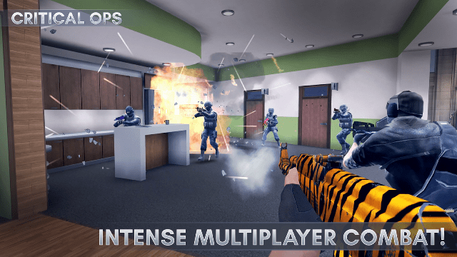 Game android gratis terbaik Critical Ops
