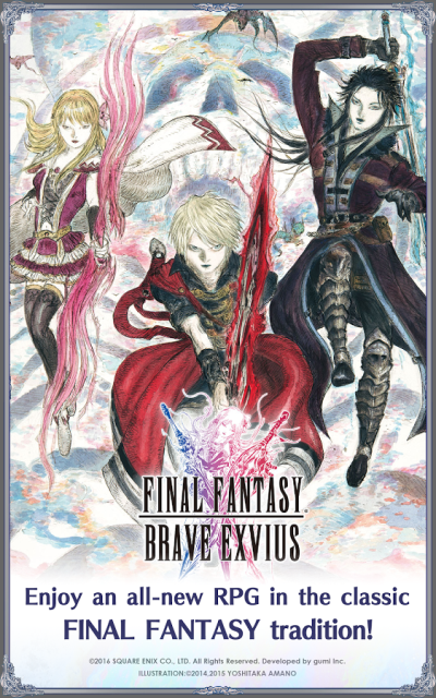 Game android gratis terbaik FINAL FANTASY BRAVE EXVIUS